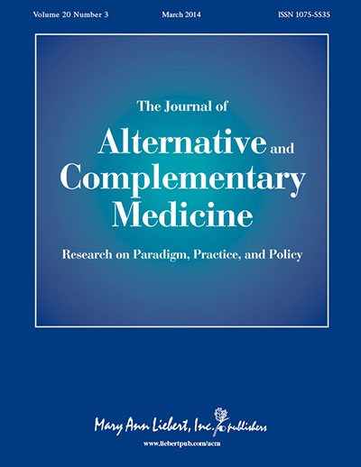 Journal of Alternative Complementart Medicine