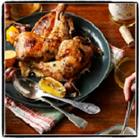 CHRISPY ROAST CHICKEN RECIPES